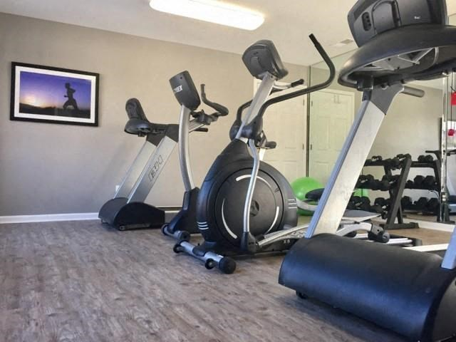 Enjoy a great workout in our Cardio Room for the residents at The Addison at Collierville Apartments, Collierville, TN 38017