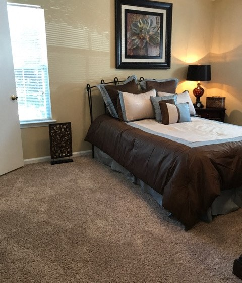 Master Bedroom Feels Large and Spacious with Large Walk-In Closets at The Addison at Collierville Apartments, Collierville, TN 38017