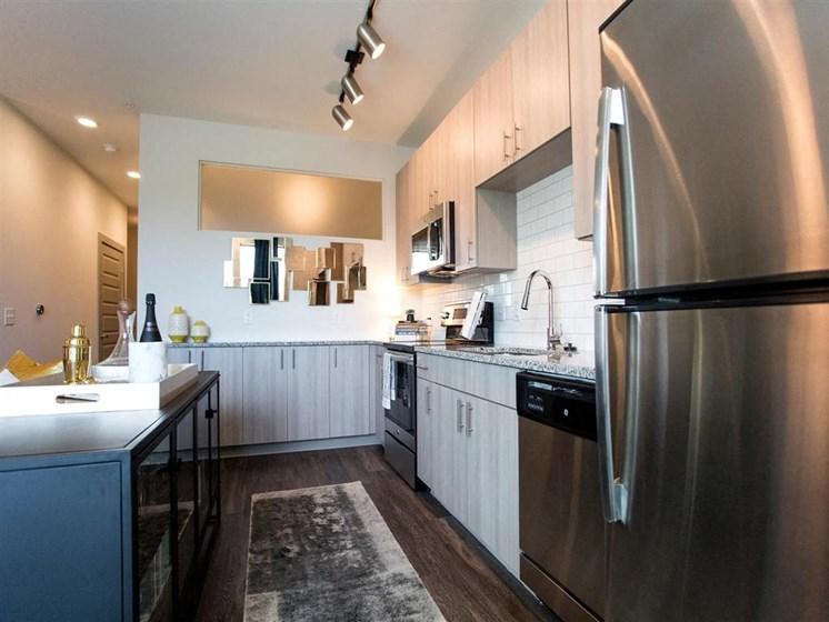 Fully Equipped Kitchen at The Dartmouth North Hills Apartments, North Carolina, 27609