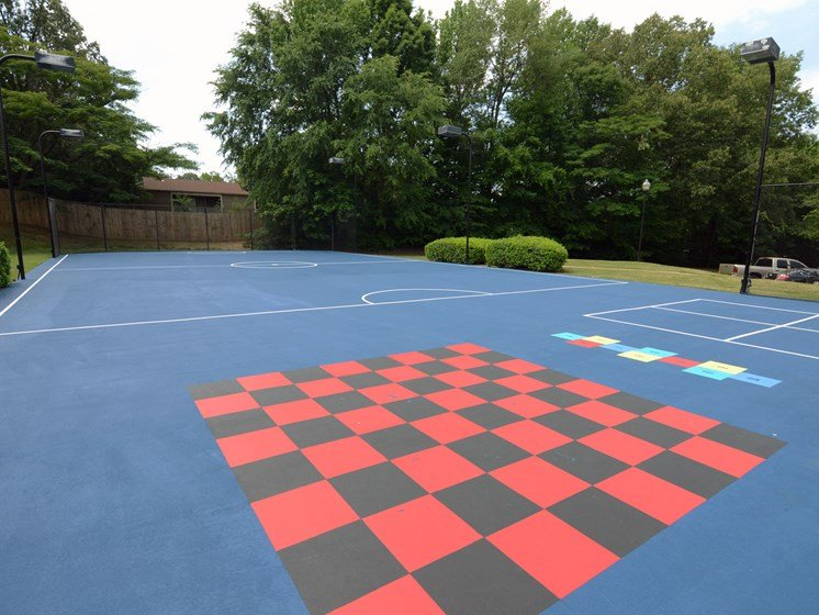 Enjoy Outdoor Games and Variety of Activities on our Multi-Purpose Sports Court at The Summit Apartments, Memphis, TN 38128