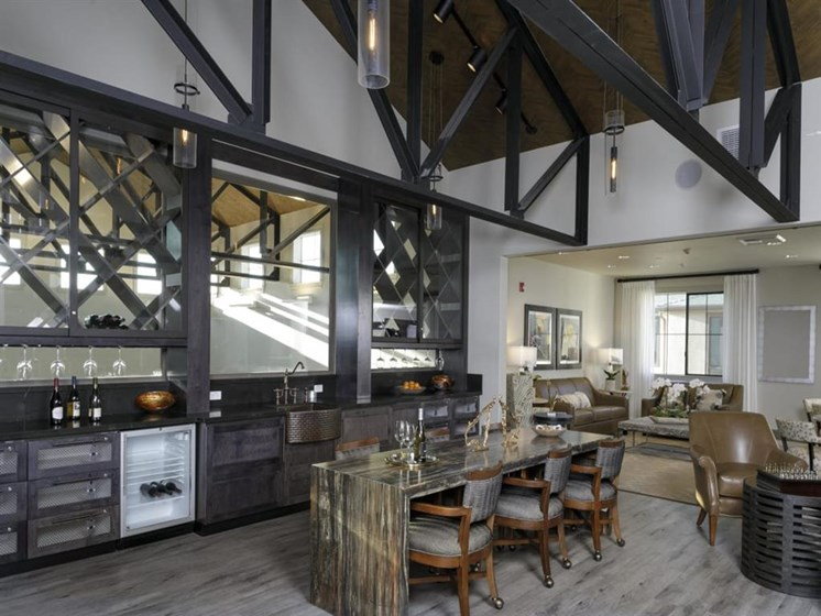 Artistic Finished Dining Room at The Oaks at Nipomo, Nipomo, CA
