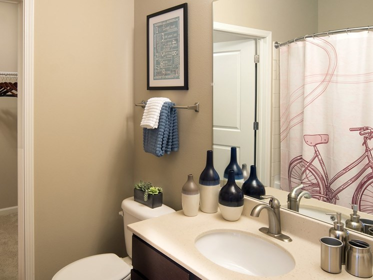 Cultured Marble Bathroom Vanities at Grand Oak at Town Park, Tennessee