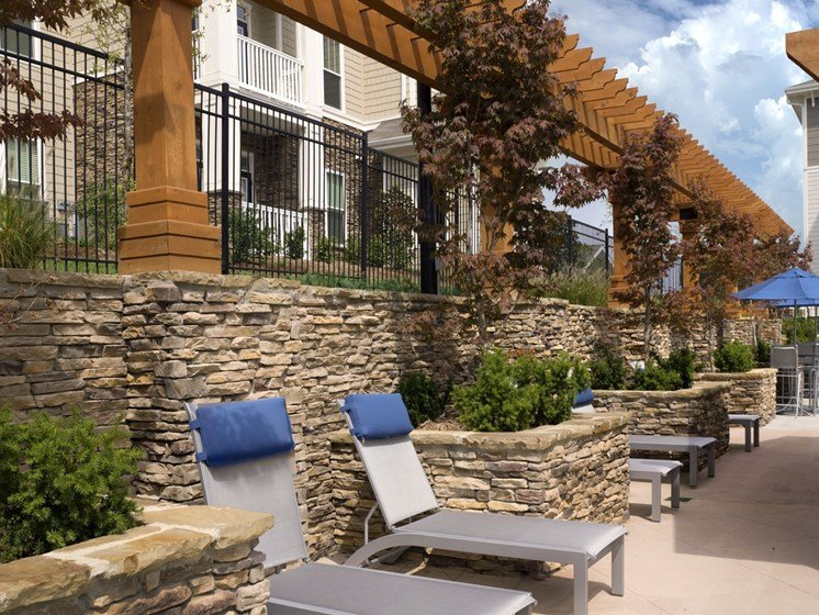 Relaxing Sundeck Area at Grand Oak at Town Park, Smyrna,Tennessee