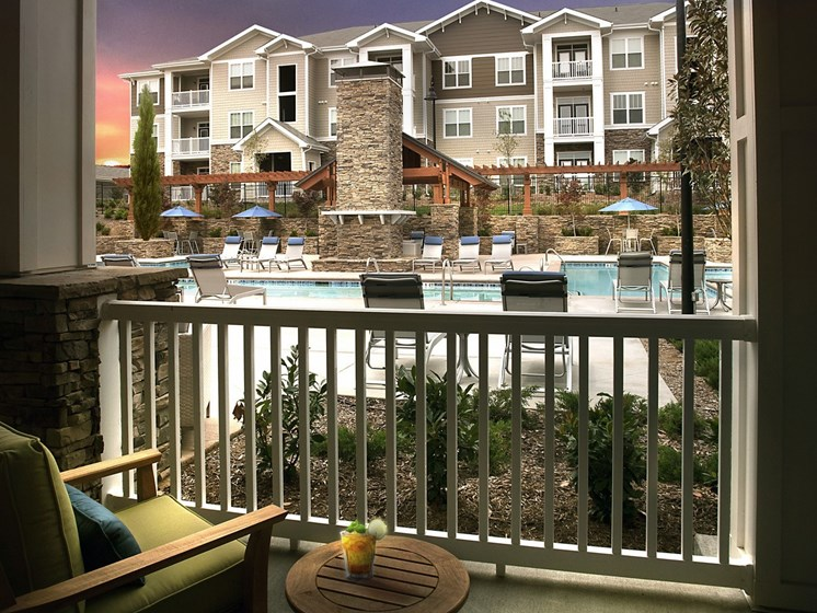 Screened Balconies at Grand Oak at Town Park, Tennessee