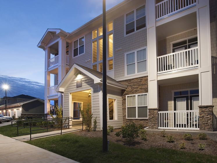 Private Patio/Balcony at Grand Oak at Town Park, Smyrna,Tennessee