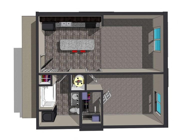 Sierra Suites, Krueger Development, Lincoln, Nebraska Apartments