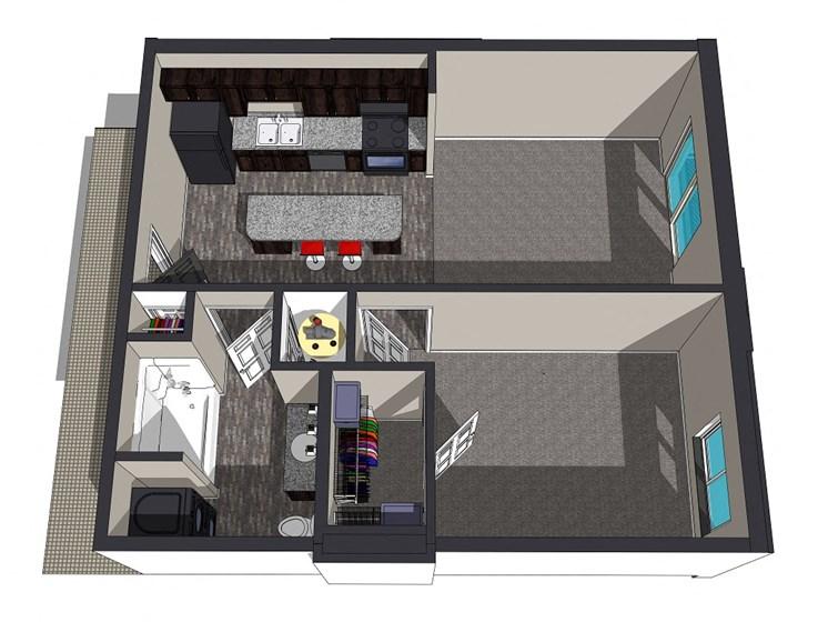 Sierra Suites, Krueger Developments, Lincoln, Nebraska Apartments