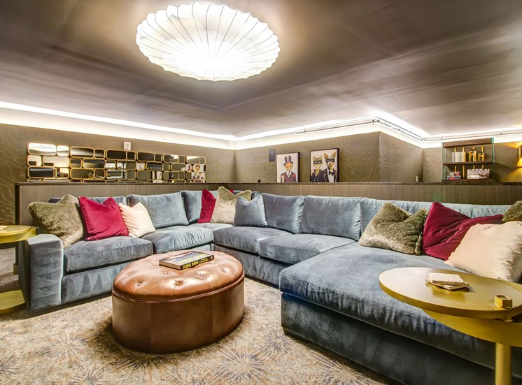 Apartments in Downtown Kansas City MO - The Grand Theater With Plush Seating and Upscale Decor