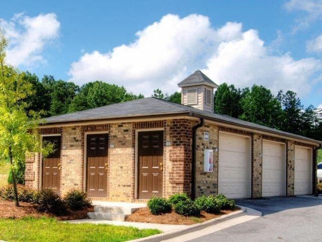 Rentable Garages at Hayleigh Village Apartments, Greensboro, NC