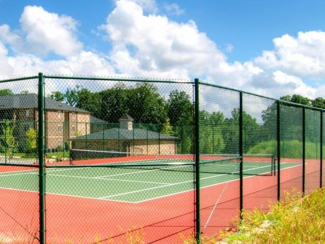Professional Grade Tennis Courts at Hayleigh Village Apartments, Greensboro, 27410