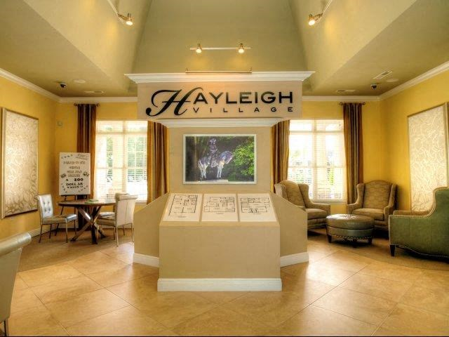 Waiting Lounge  at Hayleigh Village Apartments, North Carolina, 27410