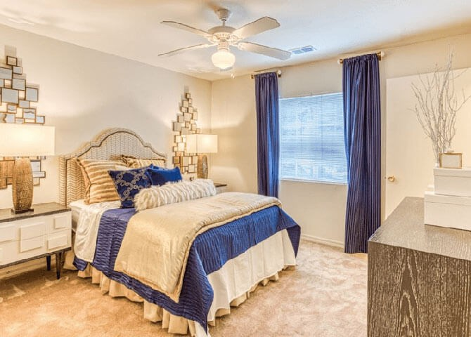 Bedroom at Alaris Village Apartments, Winston-Salem, 27106