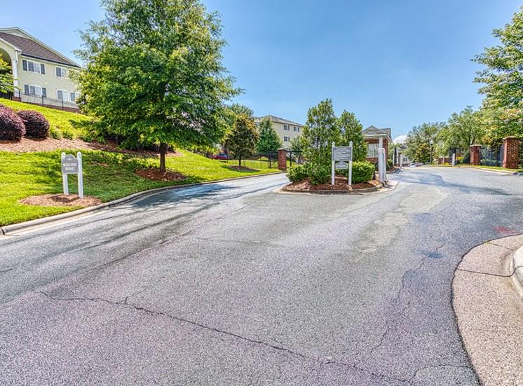 Entrance  at Alaris Village Apartments, Winston-Salem, NC