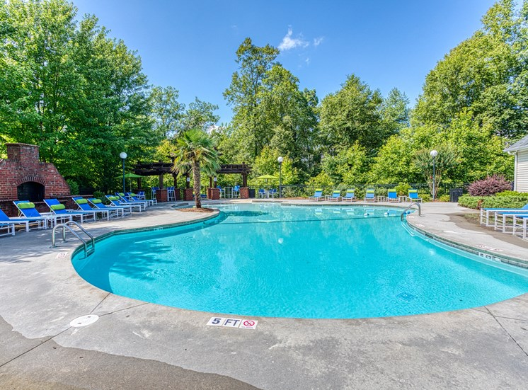 Pool  at Alaris Village Apartments, Winston-Salem, NC