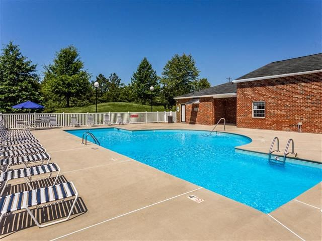 Resort Inspired Pool and Spa at Featherstone Village Apartments, Durham, NC, 27703