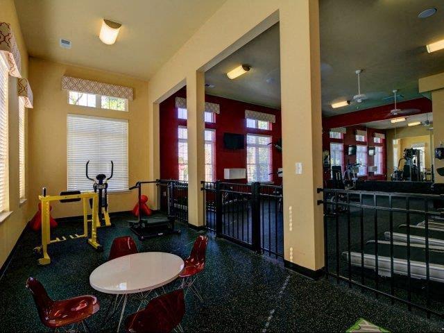 Fitness Center Kid's Area at Kilnsea Village Apartments, Summerville, South Carolina