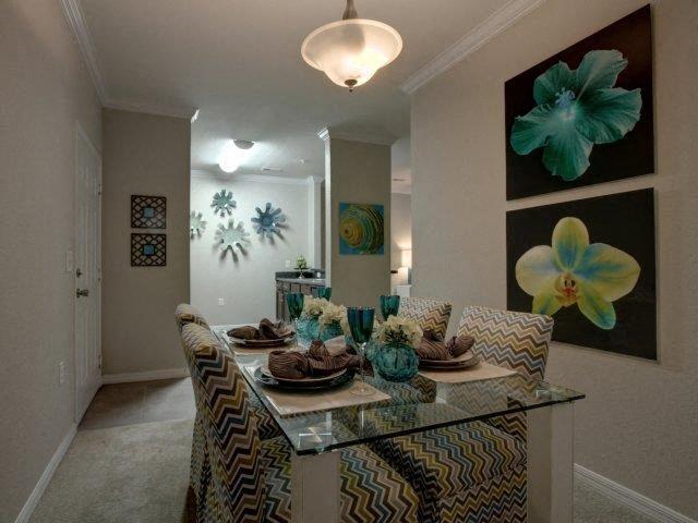 Dining Room at Kilnsea Village Apartments, South Carolina