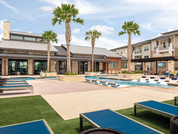 Swimming Pool With Relaxing Sundecks at Viridian, San Antonio, 78244