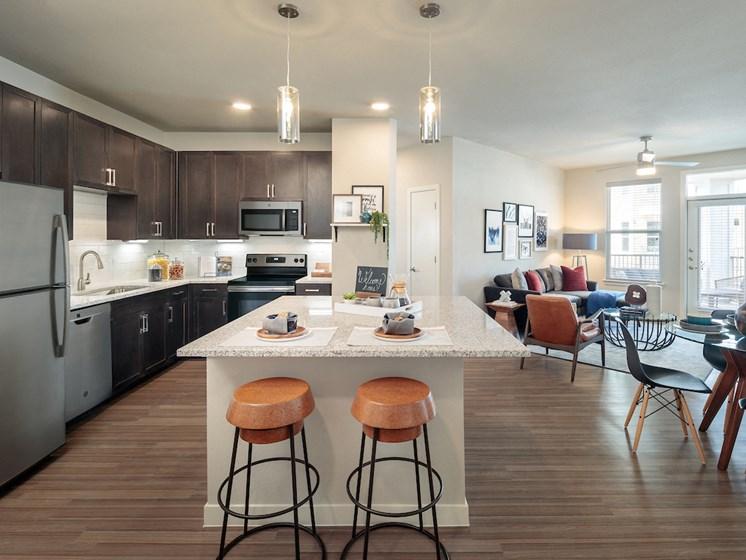 Open Kitchen at Viridian, San Antonio,Texas