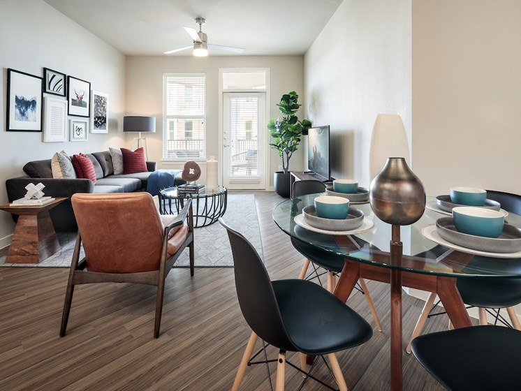 Living Room at Viridian, San Antonio,Texas