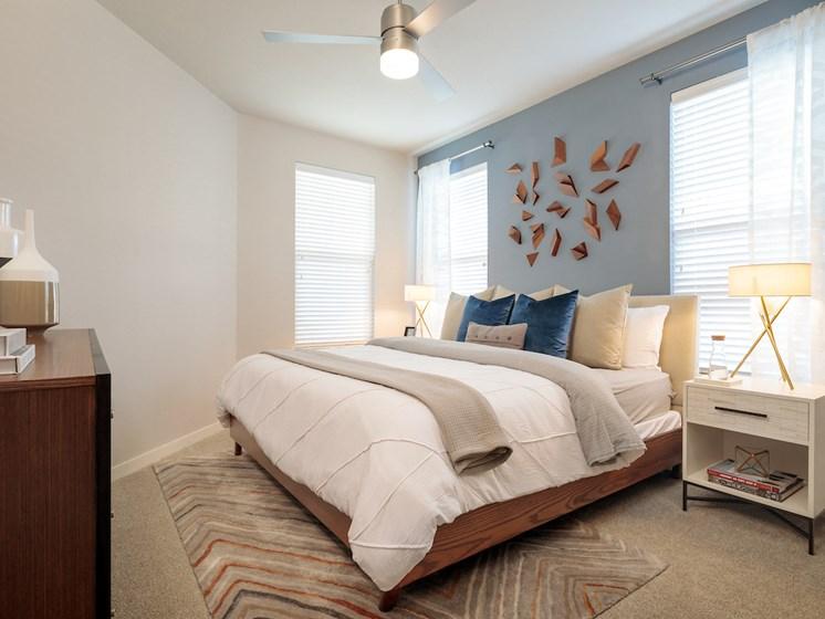 Cozy bedroom at Viridian, San Antonio,Texas
