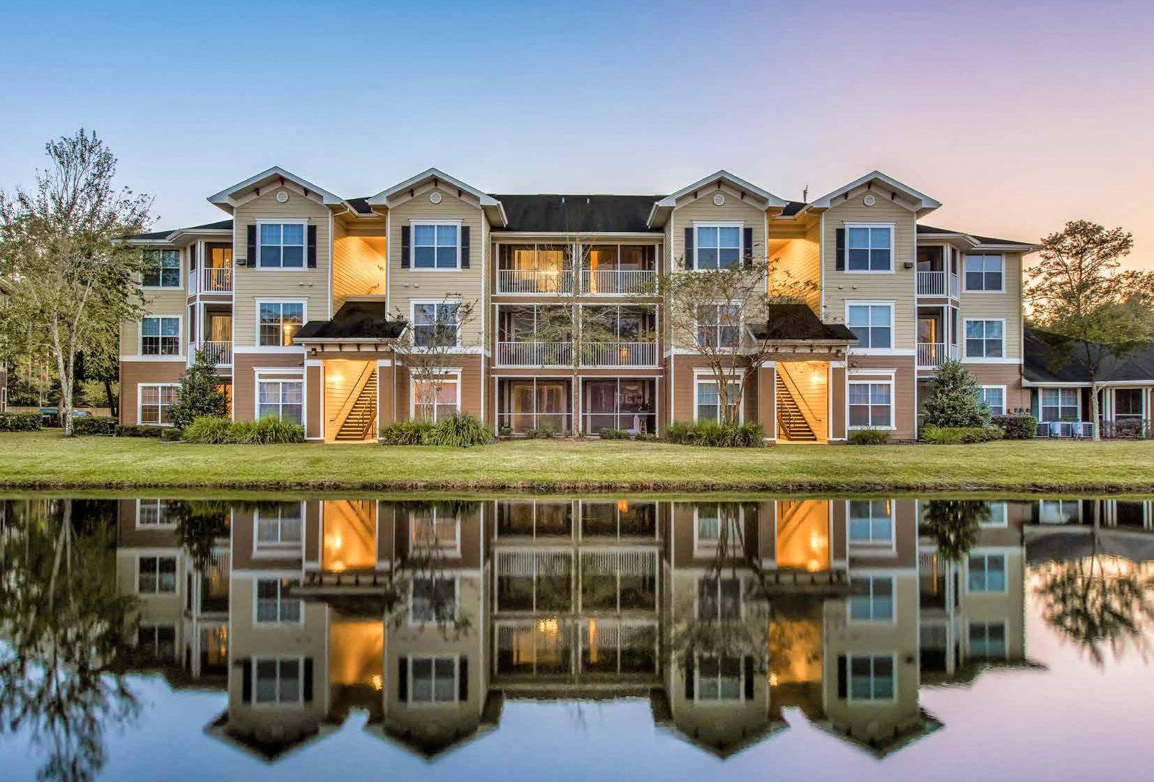 Pond at Cypress Pointe Apartments in Orange Park, FL