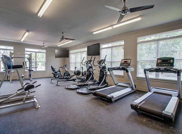 24 Hour Fitness Center at Beckstone Apartments, South Carolina