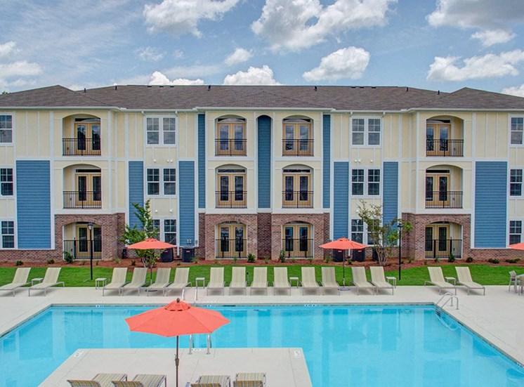 Pool House at Beckstone Apartments, South Carolina