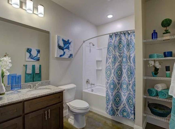 Shower Enclosure at Beckstone Apartments, South Carolina
