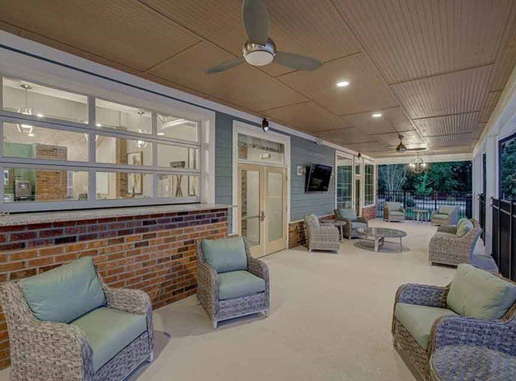 Luxury Chaise Lounge at Beckstone Apartments, Summerville, SC