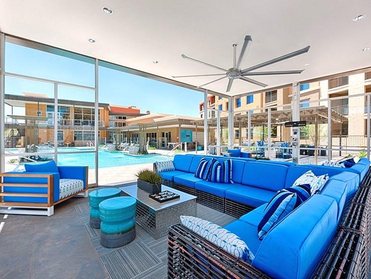 Large Poolside Cabana