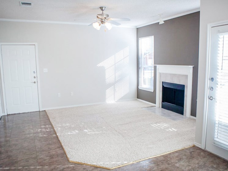 apartment with fireplace in Lubbock