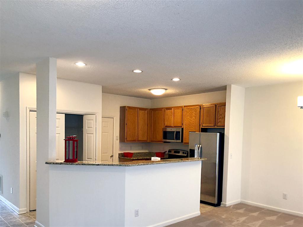 Kitchen Area at Crystal Lake Townhomes, Greensboro, NC