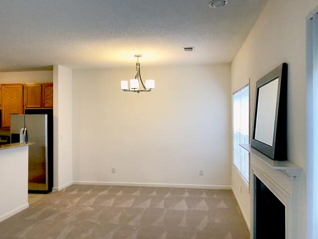Dining Room Interior at Crystal Lake Townhomes, Greensboro, NC