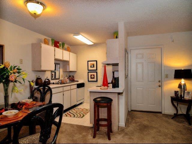 Kitchen Pantries at Treybrooke Village Apartments, Greensboro, 27406