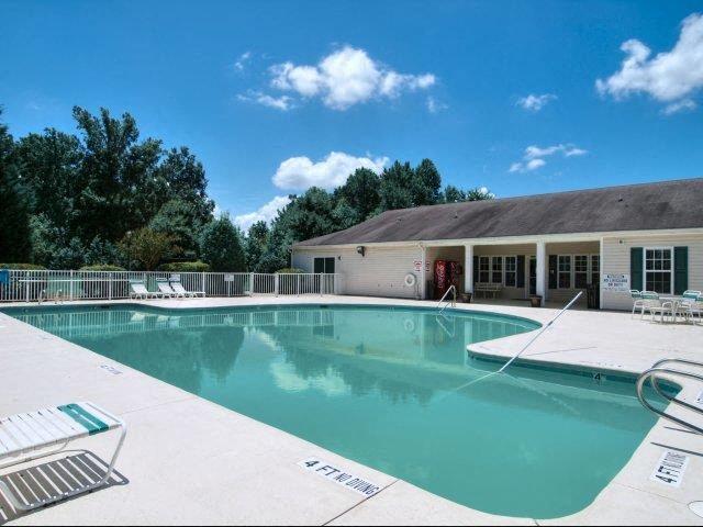 Resort-Style Pool at Treybrooke Village Apartments, North Carolina