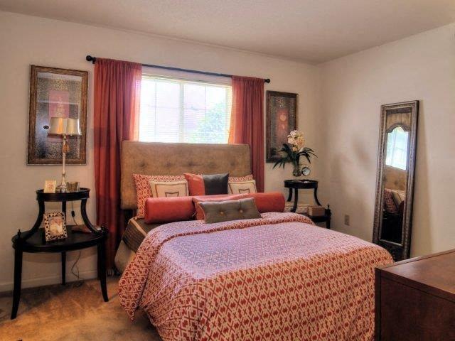 Upgraded Bedroom Interiors  at Treybrooke Village Apartments, Greensboro, NC