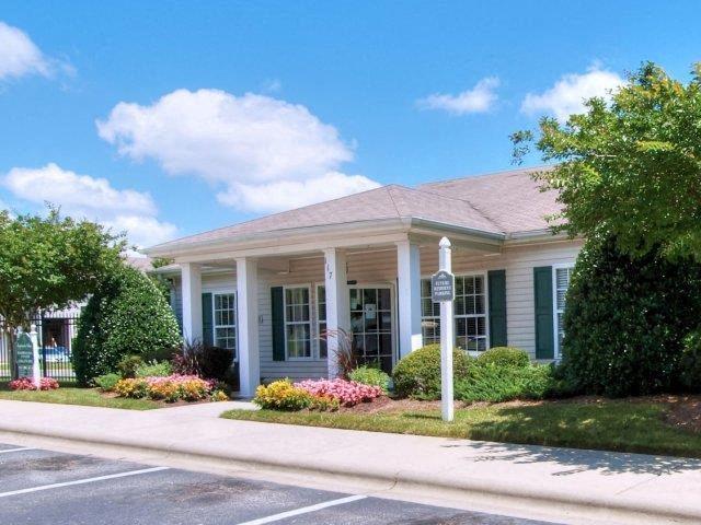 Community Building at Treybrooke Village Apartments, Greensboro, North Carolina