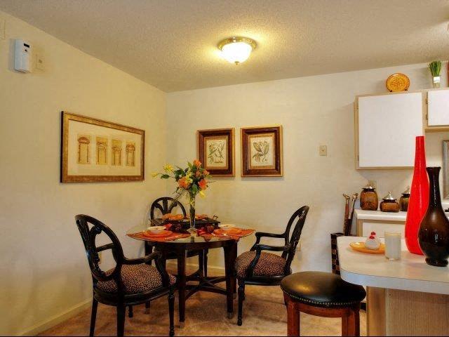 Formal Dining Room at Treybrooke Village Apartments, North Carolina