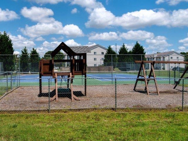 Children's Play Areaat Treybrooke Village Apartments, Greensboro, NC