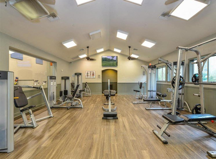 Brand New Fit Studio in the Main Fitness Center, including Wellbeats System and TRX at Paradise Island Apartments, Jacksonville, FL 32256