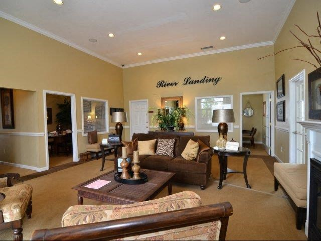 Clubhouse Lounge at River Landing Apartments, Myrtle Beach, 29579