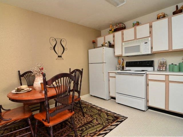 Eat-in Kitchens at River Landing Apartments, Myrtle Beach, SC