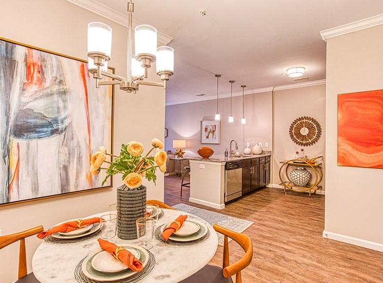 large apartment unit at Ascot Point Village Apartments, Asheville, North Carolina