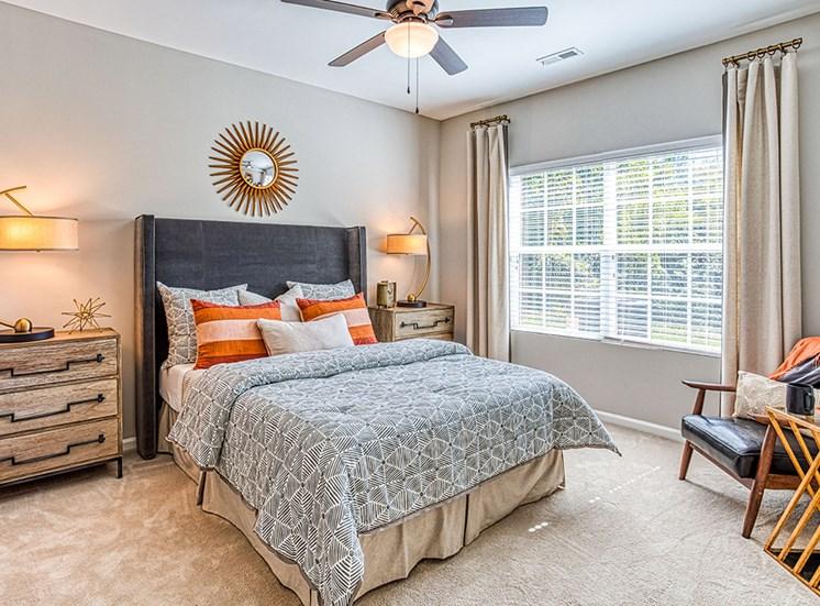 Master Bedroom at Ascot Point Village Apartments, North Carolina