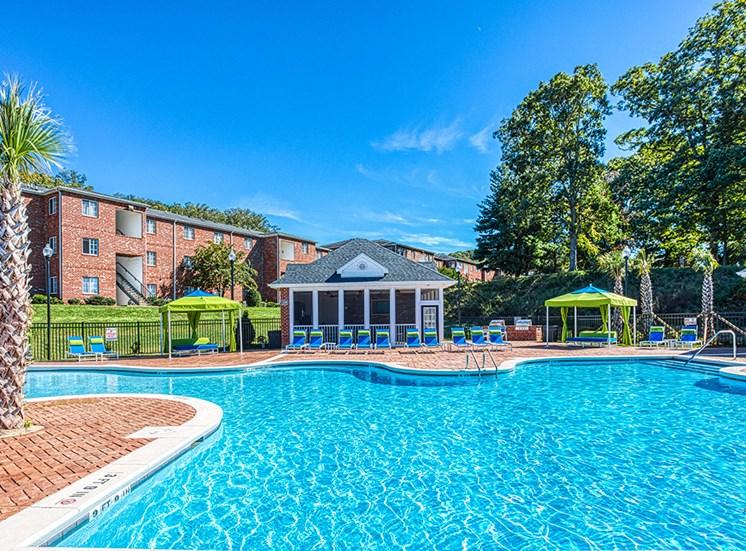 Glimmering Pool at Ascot Point Village Apartments, North Carolina, 28803