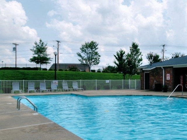 Resort-Style Poolat Copper Mill Village Apartments, High Point, 27265
