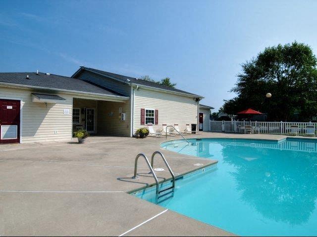 Resort-Style Poolat Broadstone Village Apartments, High Point, North Carolina