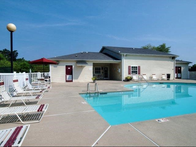 Pool Side Relaxing Area at Broadstone Village Apartments, High Point