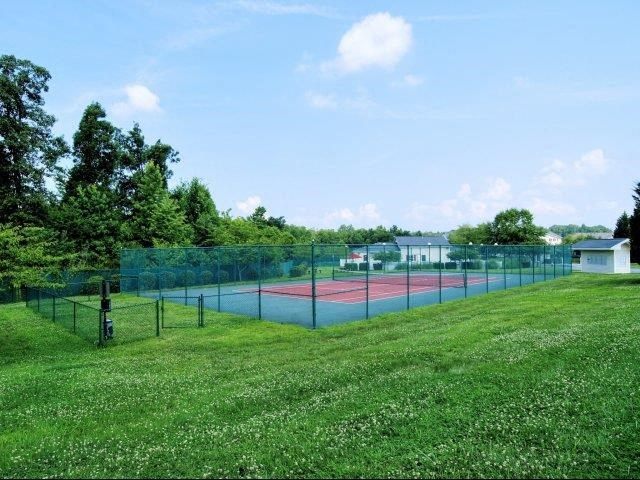 Professional Grade Tennis Court at Broadstone Village Apartments, North Carolina, 27260